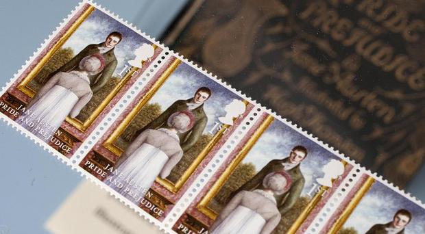 All six published Jane Auten novels are featured on new Royal Mail stamps which mark the 200th anniversary of Pride And Prejudice