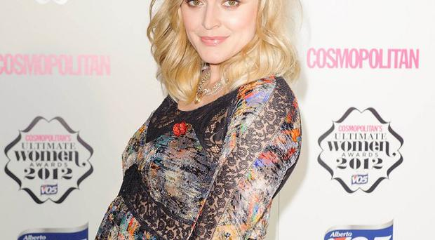 Fearne Cotton has announced that she has given birth to a boy called Rex