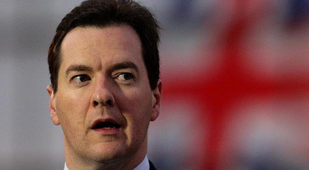 George Osborne said the loss of the UK's gold-plated status did not mean the Government should change course