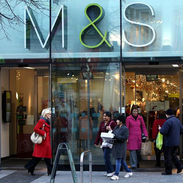 Marks and Spencer's sales have not reached expected levels