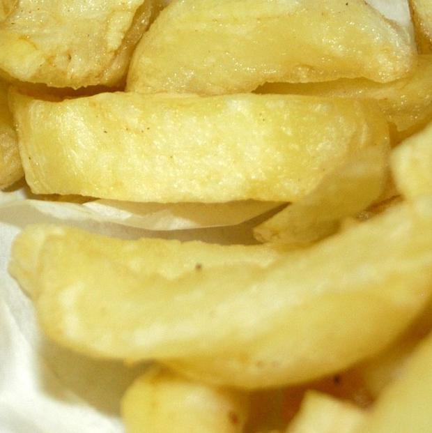A survey found some children are being sent to school with cold chips for their lunch