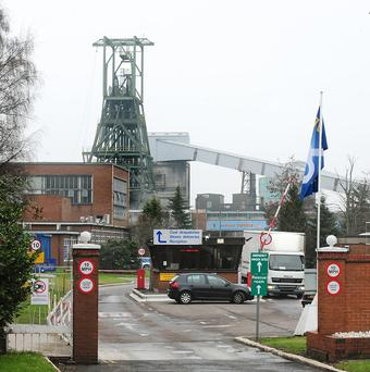 Ninety-two underground workers were evacuated from Daw Mill Colliery after the fire broke out
