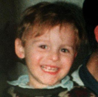 James Bulger, who was murdered in 1993 by Jon Venables and Robert Thomson