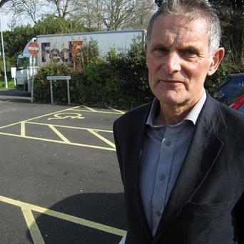 Cornwall councillor Collin Brewer, whose comments on disabled children have caused a storm of criticism