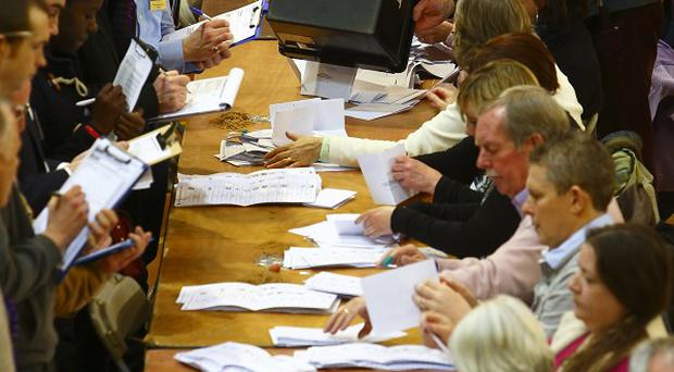 Counting gets under way after polls closed in the Eastleigh by-election