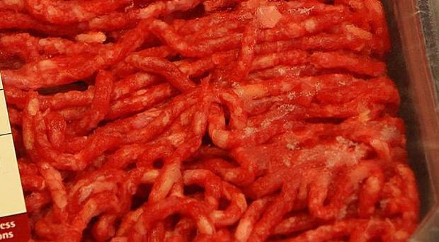 Minced beef served in school dinners in Leicestershire has been found to contain traces of horse DNA