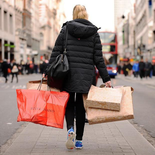 Retail sales grew at their fastest rate in more than three years, according to new figures