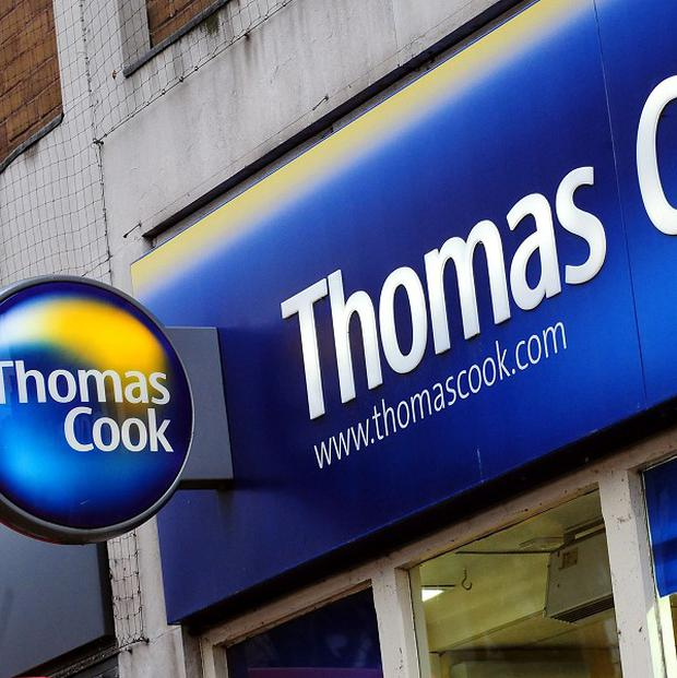 Thomas Cook said UK holidaymakers looking for winter sun in the Caribbean or summer breaks in Turkey were taking advantage of lower prices