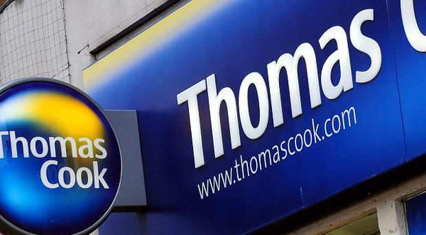 Europe's uncertain economic prospects have cast a cloud over Thomas Cook's recovery after a slowdown in bookings in Germany