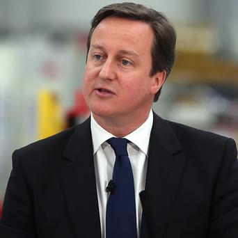 Prime Minister David Cameron said there is no 'magic money tree' that would allow more borrowing and spending