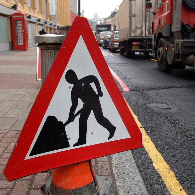 At present roadworks stretch for 789 miles, figures have shown