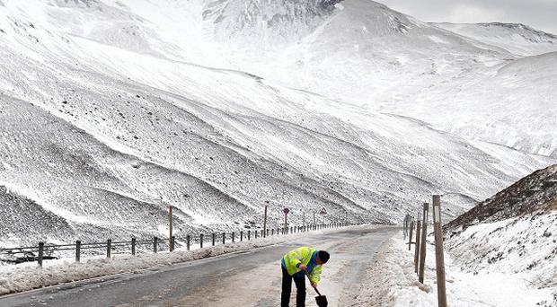 More cold weather is on the way this weekend, say forecasters