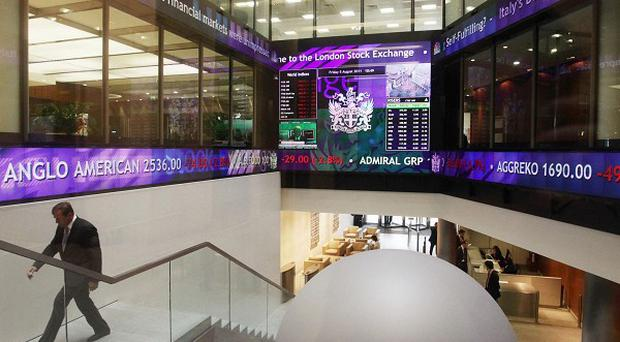 Rising shares at the London Stock Exchange have taken the FTSE 100 index to a five-year high