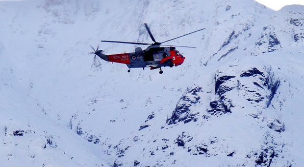 Rescuers, who were assisted by an RAF helicopter, discovered the body of a 39-year-old man, Northern Constabulary said