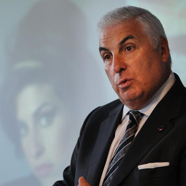 Mitch Winehouse said there was a 'worrying knowledge gap' about substance misuse among young people