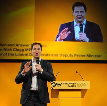 Deputy Prime Minister and Liberal Democrat leader Nick Clegg is set to round on critics who wrote the party's 'political obituaries'