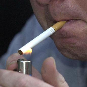 One per cent of smokers believe they look trendy when lighting up, according a poll