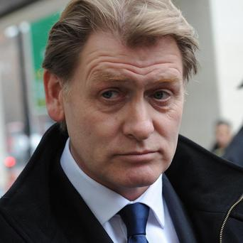 MP Eric Joyce, who was arrested following an incident in a Commons bar