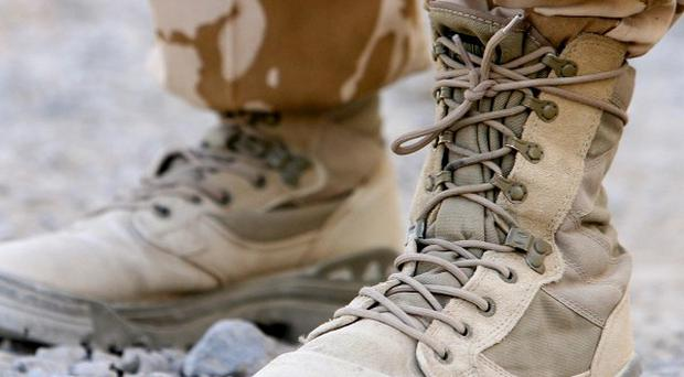 A study suggests young men are more likely to commit violent crimes if they have served in the armed forces