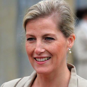 The Countess of Wessex said she had struggled to find her seat at royal banquets