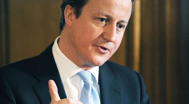 Prime Minister David Cameron is set to focus his sights on a culture of 'aspiration'