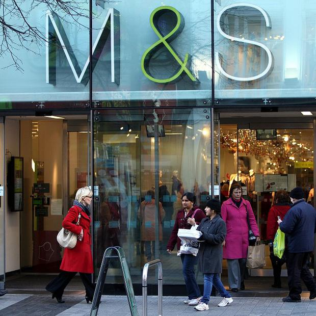 Speculation that Marks and Spencer will be subject to a bid from Middle Eastern investors has triggered a surge in share value