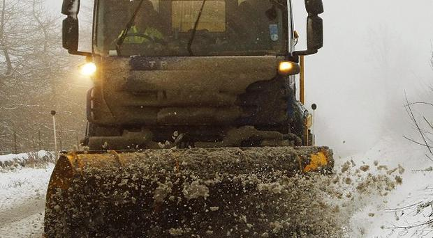 Friday will see a return of heavier snow storms, forecasters said