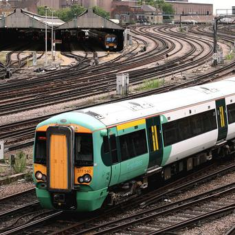 The death of a woman and child at a station in south London caused delays to Southern train services