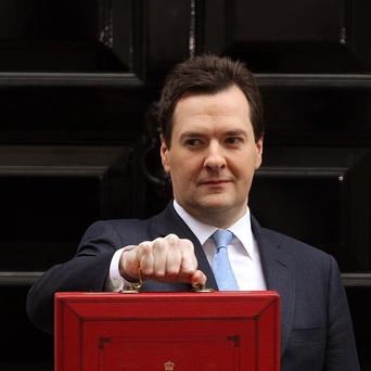 Chancellor George Osborne unveiled dire growth and borrowing figures in the Budget