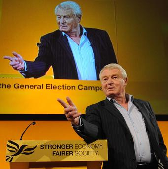 Lord Ashdown said David Cameron managed to achieve the 'Tory nightmare' of forcing Nick Clegg to line up with Labour