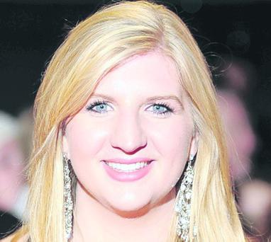 Olympic swimming star Rebecca Adlington