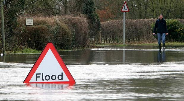 Flooding could become more common in the next few decades due to climate change, an expert warns