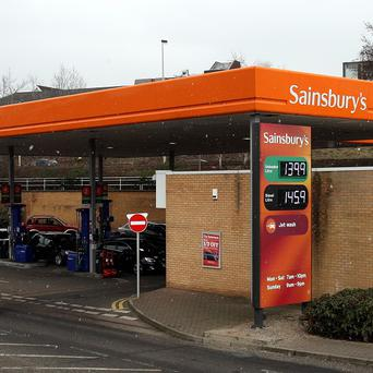 From Tuesday, Sainsbury's diesel will be up to 2p per litre cheaper at its 280 forecourts