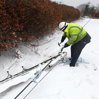 'Unprecedented' late winter weather has left some communities without power for a fifty day
