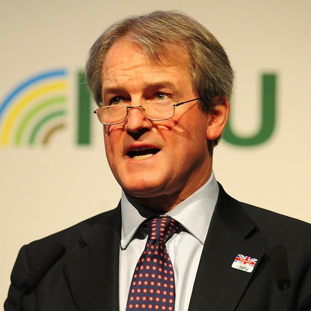 Environment Secretary Owen Paterson said consumers 'have a right to expect that all the food they are eating is correctly described'