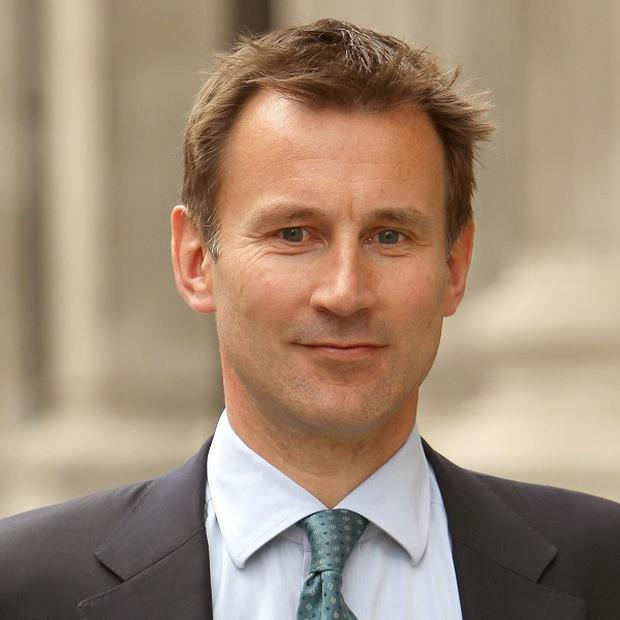 Jeremy Hunt plans to introduce a 'national barring list' for failing NHS bosses