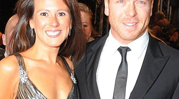 Sir Chris Hoy and his wife Sarra were staying in a hotel in central Taiwan when an earthquake struck