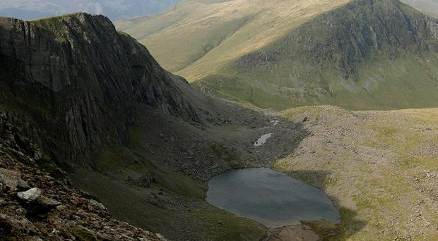 Snowdonia National Park chiefs warned people to avoid walking in the mountains in the current cold and windy weather