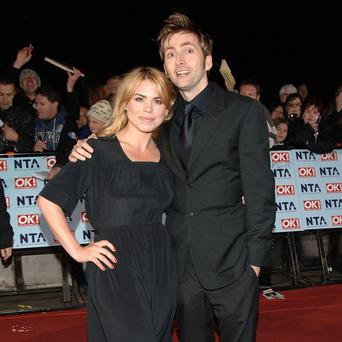 David Tennant and Billie Piper who are to return to Doctor Who for the show's 50th anniversary, the BBC have confirmed