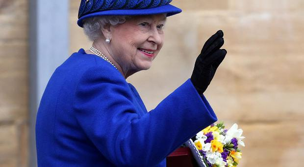 The Queen will attend an Easter service at St George's Chapel in Windsor Castle