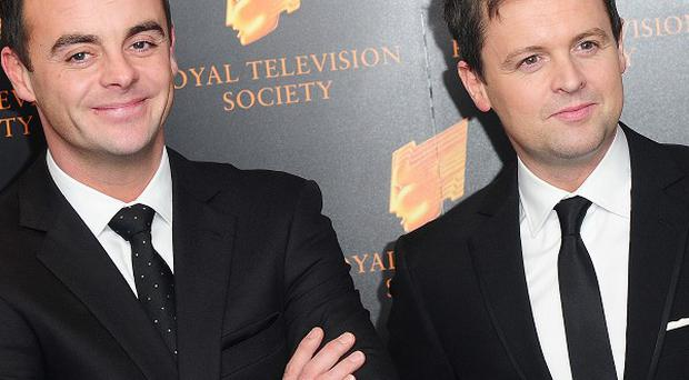 Ant and Dec have achieved their first number one single with a reissue of their 1994 hit Let's Get Ready To Rhumble
