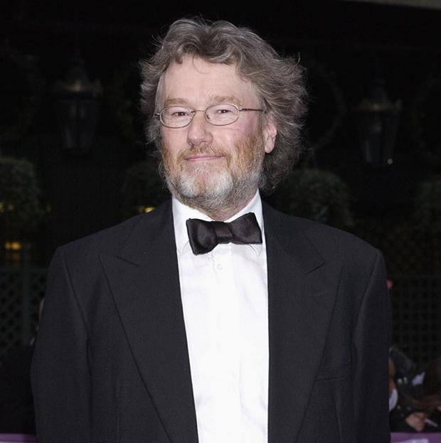 Iain Banks, pictured at the British Book Awards 2004, has revealed he has gall bladder cancer