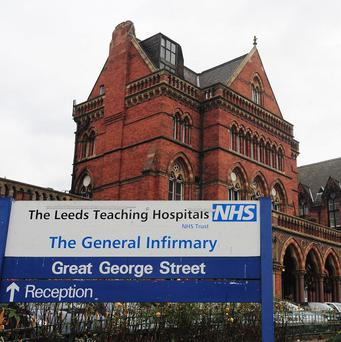Children's cardiac surgery at Leeds General Infirmary was halted last Thursday