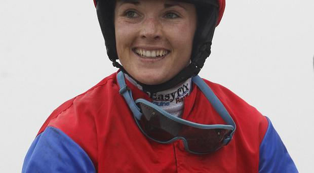Grand National jockey Katie Walsh finished third in last year's race