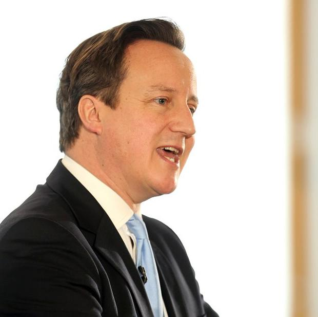 David Cameron suggested it is 'crazy''that claimants could have a bigger income on benefits than in work