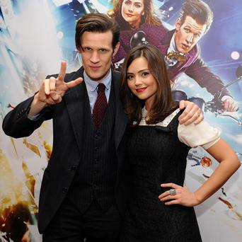 Jenna-Louise Coleman's character has a 'romantic relationship' with Matt Smith's version of the Doctor