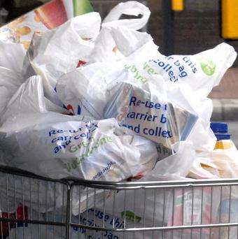 The Government is being urged to introduce a levy on plastic bags in England