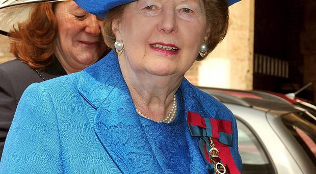 Baroness Margaret Thatcher has died
