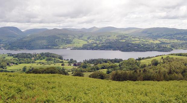 Reports suggest a woman and two children became ill on Lake Windermere after leaving their boat engine running with the canopy closed