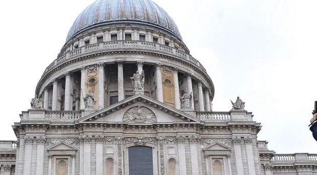 Members of the armed services will line the route of Baroness Thatcher's funeral procession to St Paul's Cathedral